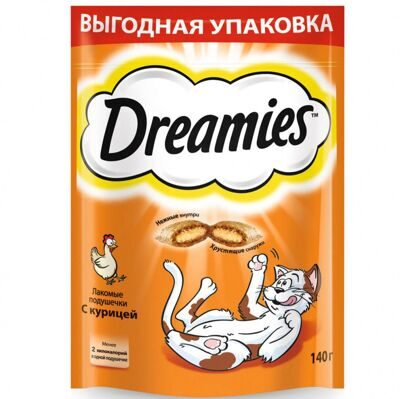 DREAMIES КУРИЦА 140г
