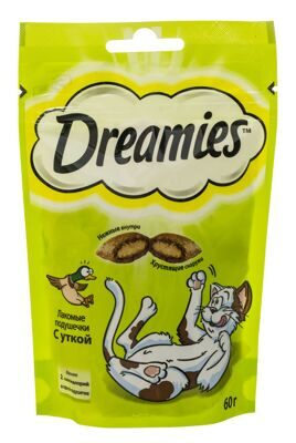 DREAMIES Утка 60г
