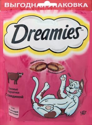 DREAMIES Говядина 140г