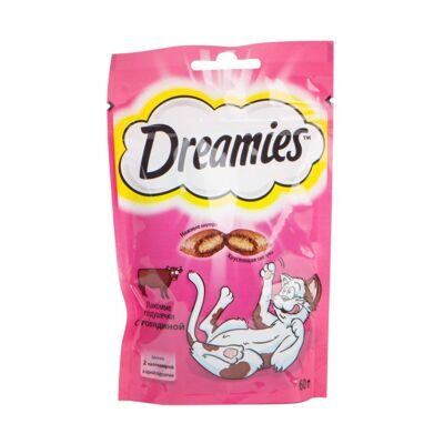DREAMIES ГОВЯДИНА 60г