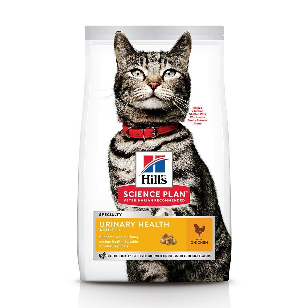 Hill's Cat  sterilised urinary health adult 0.3 для стерилиз. курица сухой для кошек